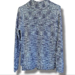 FOREVER 21 CHUNKY KNIT TURTLENECK PULLOVER SZ M